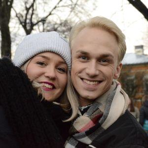 Märta Westerlund och Christoffer Strandberg