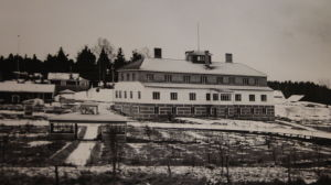 Hjalmari Mäkeläs gamla bostadshus i Kopro.