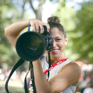 Malena Holmström på Ruisrock
