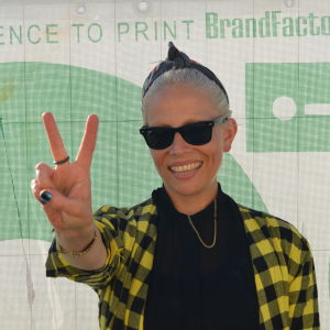 Jenny Wilson gjorde en lysande spelning på Flow 2014.