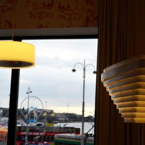 Hotellrummet i Hotel Manta of Helsinki är inredd med finsk design.