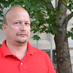Joakim Häggström är vice ordförande för FSL