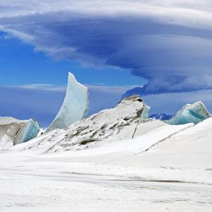 Mount Discovery i Antarktis.