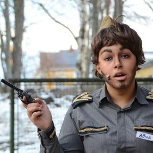 Kadi Lindman spelar Jim Böna i årets Wasaspex