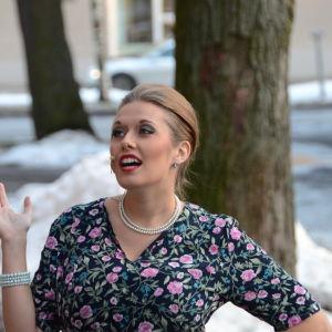Emilia Alfthan spelar Dollar-Hanna i årets Wasaspex