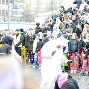 Pampas Nationaldag 2017 ordnades på Vasa torg.