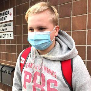 Kalle Majasaari, Meri-Porin yhtenäiskoulu