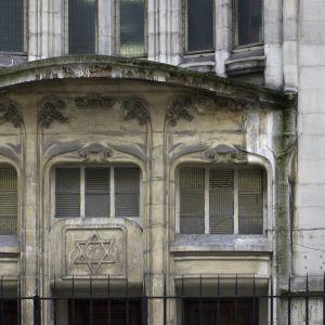 Agoudas Hakehilos-synagogan i Paris.