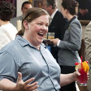 Melissa McCarthy i filmen Bridesmaids.
