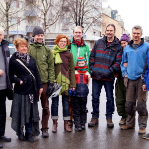 Hans Appel, Marina Andersson, Fredrik Östman, Monica Björk, Patrik Ström, Peter Appel, Jan Backman är några av småföretagarna bakom kampanjen.
