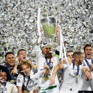 Real Madrid vann Champions League säsongen 2015-2016.