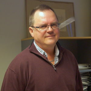 Chefredaktör Kenneth Myntti.