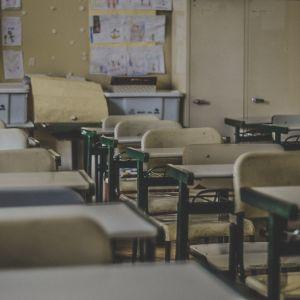 pulpettirivit luokkahuoneessa