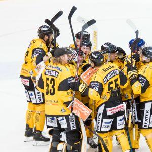 SaiPa utjämnade till 1–1 mot Ilves i ligaslutspelet.
