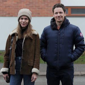 Både Linnea Portin och Niklas Karlström gillar att använda olika filter på bilder.