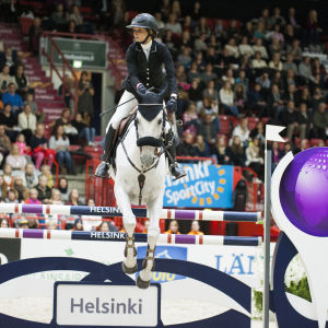 Helsinki International Horse Show.