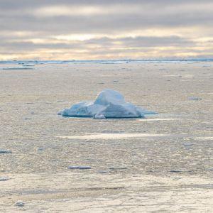 Isberg på drift i Nordvästpassagen