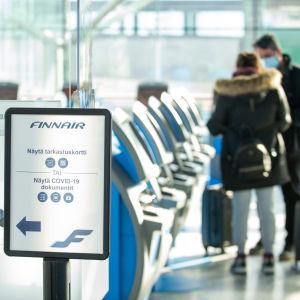 Helsingfors-Vanda flygplats den 26.3.2021
