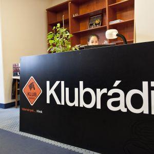 Radiokanalen Klub radio i Budapest.