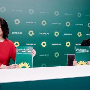 Annalena Baerbock och Robert Habeck
