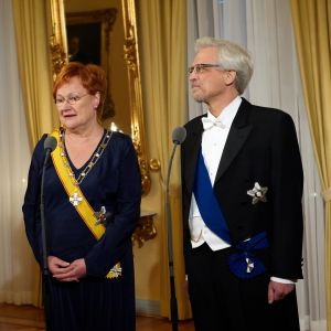 tarja halonen, pentti arajärvi, 2009