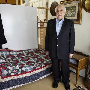 Turkiet vill ha den religiösa ledaren Fethullah Gülen utlämnad från USA där han har levt i exil i delstaten Pennsylvania sedan år 1999