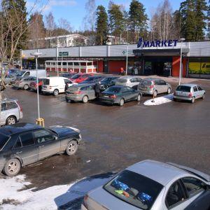 Vårberga centrum i Borgå