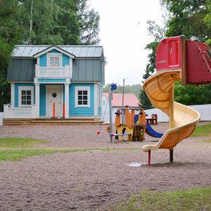 Ada-glada-huset i Kapellparken i Lovisa