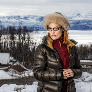 Karaktären Yvette i dramaserien Andra åket.