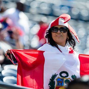En supporter under Copa America 2016.