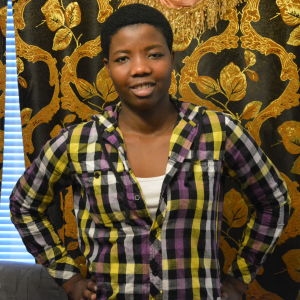 Fazili Chakupewa kommer från Kongo.