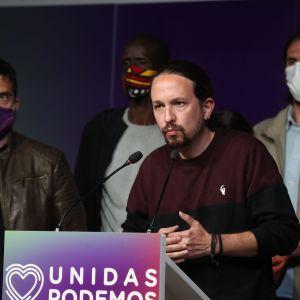 Podemos grundare Pablo Iglesias