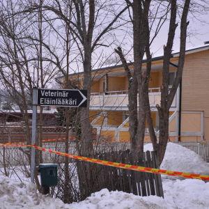 Brunnet hus i Smedsby, Korsholm.