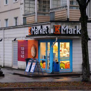 K-Market vid Alexandersgatan i Borgå