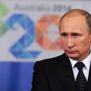 Rysslands premiärminister Vladimir Putin.