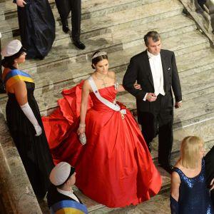 Kronprinsessan Victoria och Eric Betzig