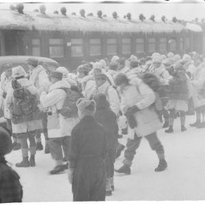 8.1.1940 Ruotsalaisia saapuu Tornioon.