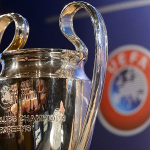 Champions League-pokalen.