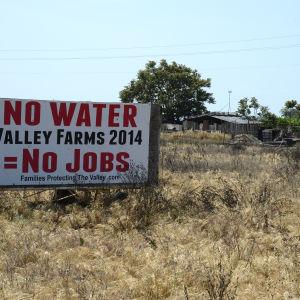 Vattenbegränsningarna är enorma då torkan slagit till i Kalifornien.