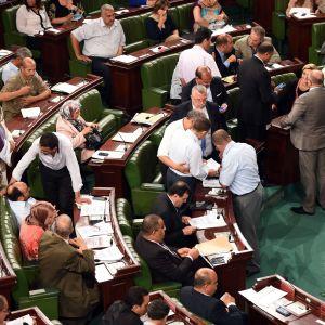 Det tunisiska parlamentet har enhälligt antagit en ny, skärpt antiterrorlag. Lagen har fått hård kritik av människorättsorganisationer.