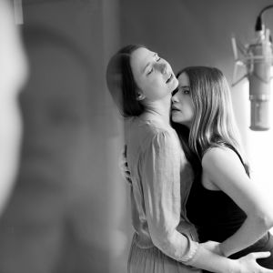 """Radioteaterns """"Något annat"""". Kajsa Ek och Sara Soulié på bild."""