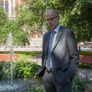 Martti Hetemäki / Valtiosihteeri / Ritarihuoneen puisto / 11.08.2017