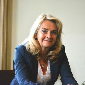 Porträtt av Lisbeth Fagerström.