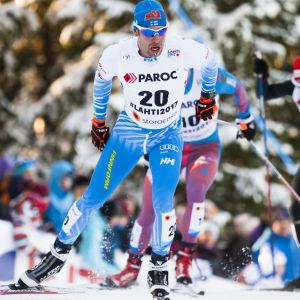 Lari Lehtonen fick allt att stämma i VM-skiathlonen den 25 februari 2017.