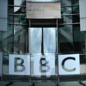 BBC huvudkontor i London den 2 juli 2020.