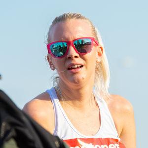 Sandra Eriksson under terräng-FM 2020.