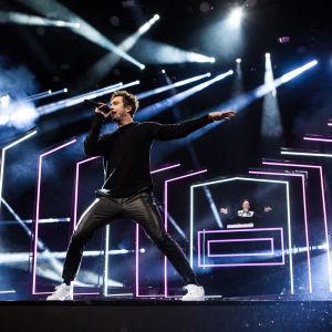 Darude ja Sebastian Rejman esittää ensimmäisen UMK-kappaleen Release me Logomolla 2.3.2019