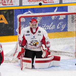 Rasmus Reijola i målet.