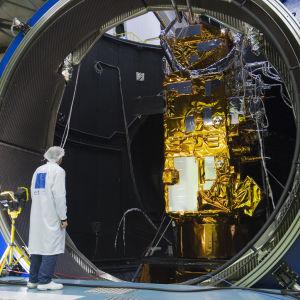 MetOp-satelliitti testattavana
