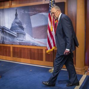 Demokraternas gruppledare i den amerikanska senaten Chuch Schumer